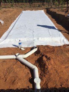 Trafficable leach drain