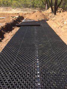 Trafficable polypropylene leach drain soakwell